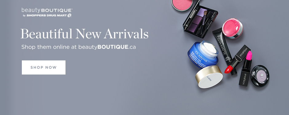 Shop new arrivals at beautyBOUTIQUE.ca