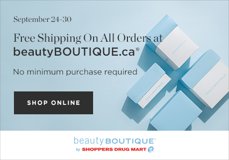 Shop online today at beautyBOUTIQUE.ca