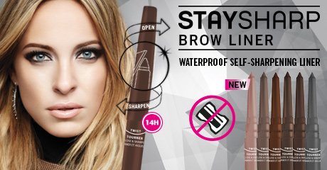 Stay Sharp Waterproof Brow Liner
