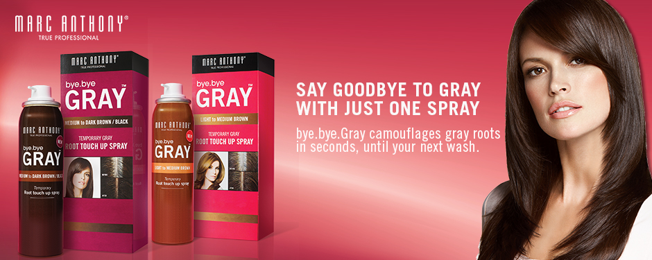 Say Goodbye To Gray With Just One Spray