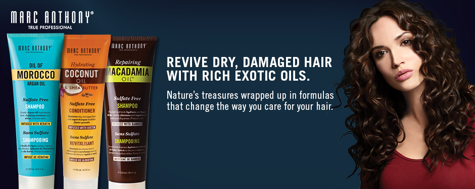 Revive Dry, Damaged Hair With Rich Exotic Oils.