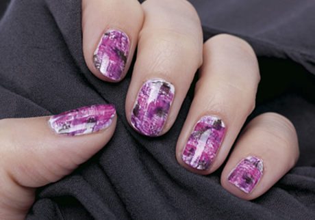 Graffiti Nail Design