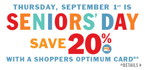 Seniors Day September 1 2016