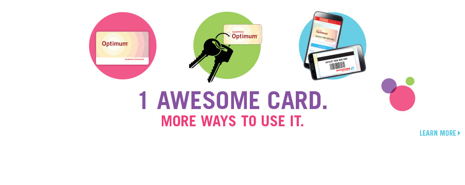 1 awesome card. More ways to use it.