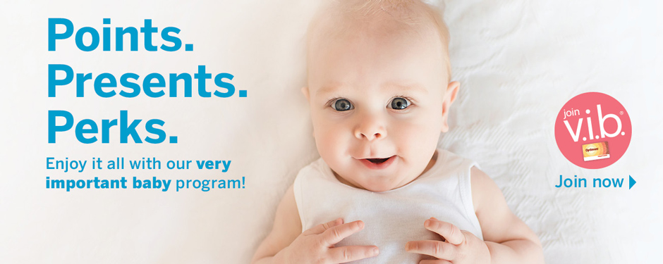 Join our very important baby program today