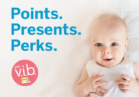 Join our very important baby program today.