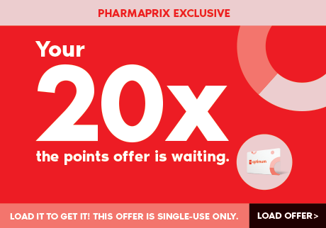 Your 20x the points offer is awaiting. Load it to get it! This offer is single-use only. Load offer>
