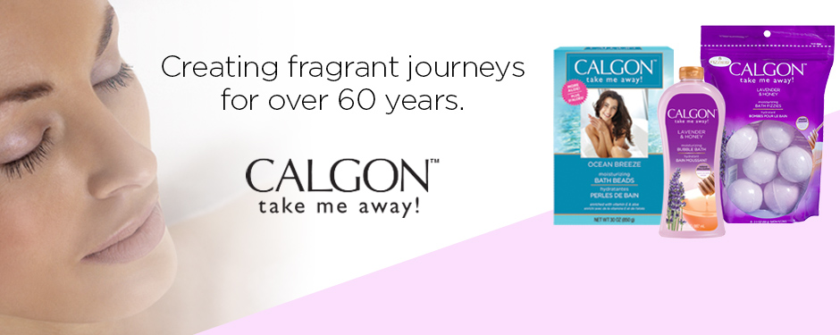 Creating fragrant journeys for over 60 years. CALGON™ take me away!