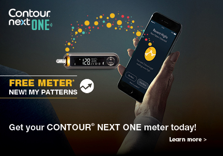 See your diabetes in a new light. Join the new age of smart diabetes management with  CONTOUR® NEXT ONE.