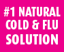 #1 Natural cold & flu solution