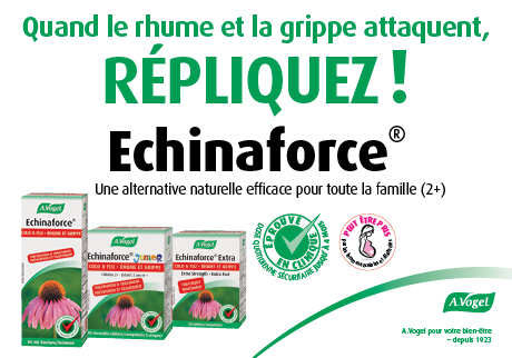 Quand le rhume at la gripe attaquent, RÉPLIQUEZ !