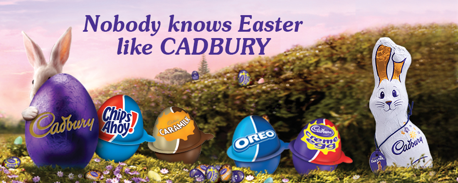 Nobody knows Easter like CADBURY