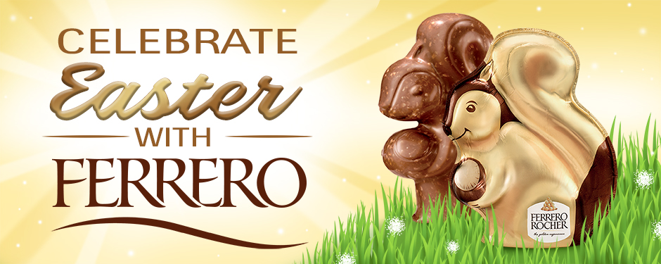 Celebrate Easter with FERRERO