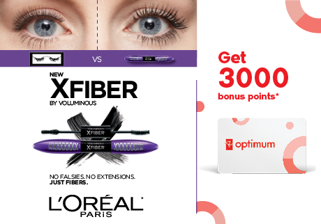 Buy Beauty and get rewarded 20x faster!  Spend $75 or more on cosmetics or fragrances and get 20x the points!
