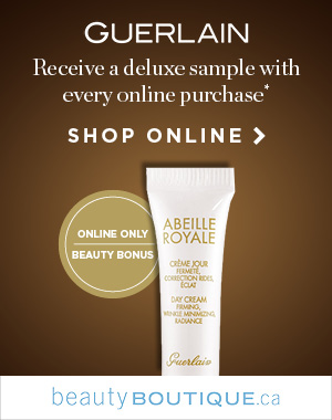 Gorgeous Guerlain  Get a Abeille Royalle Day Cream deluxe sample from Guerlain when you shop beauty online.
