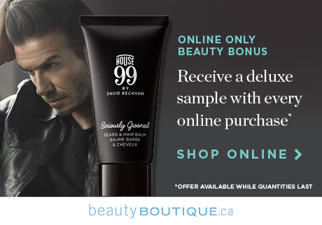 Get Your Groom On with House 99 Get a Seriously Groomed Beard & Hair Balm deluxe sample from House 99 when you shop beauty online.
