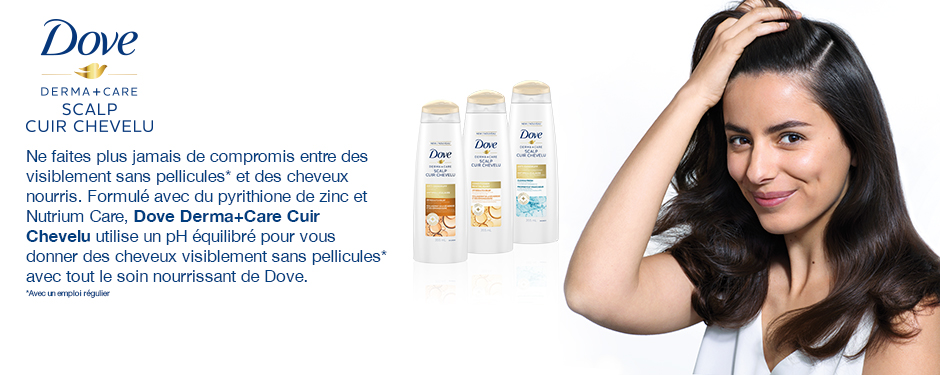 Dove Derma+Care Cuir Chevelu