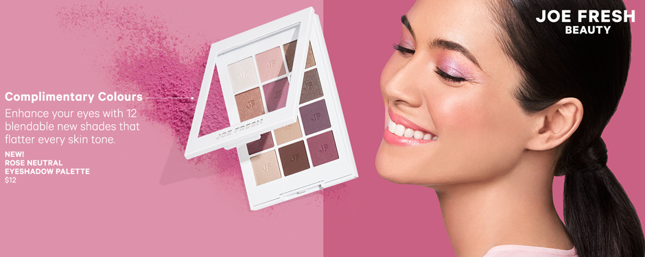 Complimentary Colours. Enhance your eyes with 12 blendable new shades that flatter every skin tone.