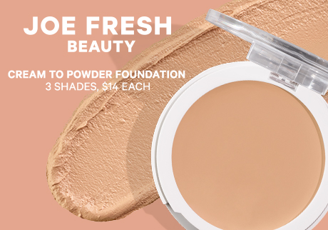 Perfect your complexion with a new foundation that blends as a cream and sets as a lightweight powder.