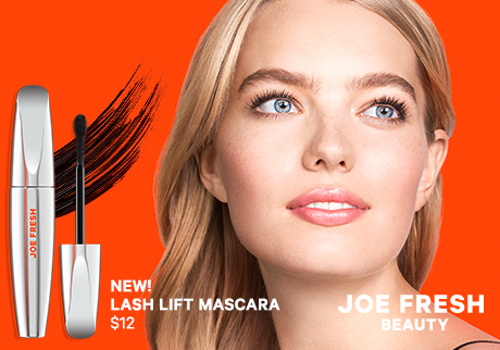 New!  Lash Lift Mascara | Joe Fresh Beauty