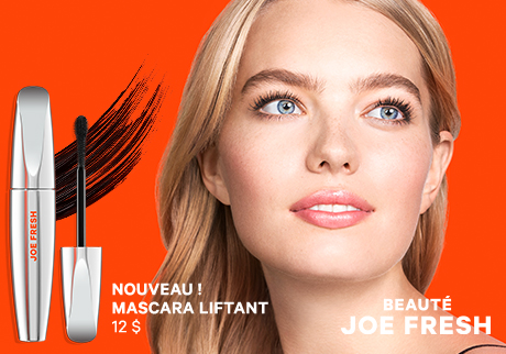 Nouveau !  Mascara liftant | Beauté Joe Fresh