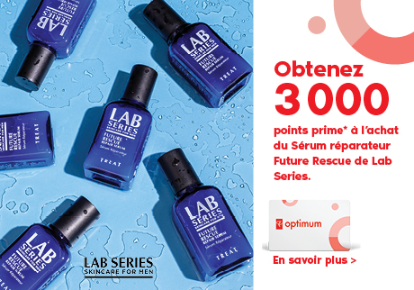 Obtenez 3 000 points prime* à l'achat de Lab Series Future Rescue Sérum Réparateur.