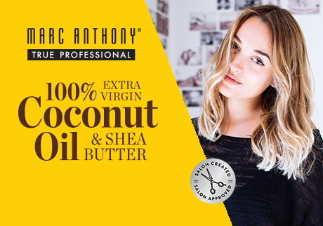 Collection 100 % Extra Virgin Coconut Oil & Shea Butter. Pour des cheveux plus doux et brillants.