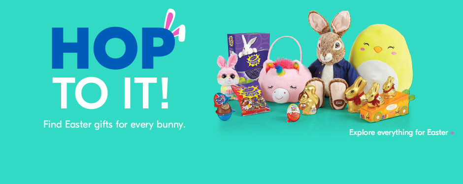 Hop to it! Find Easter gifts for every bunny. <Explore everything for Easter>