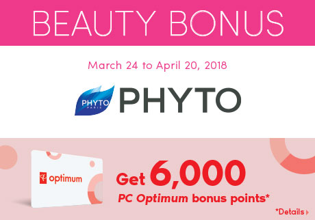 Get 6,000 PC Optimum bonus points*