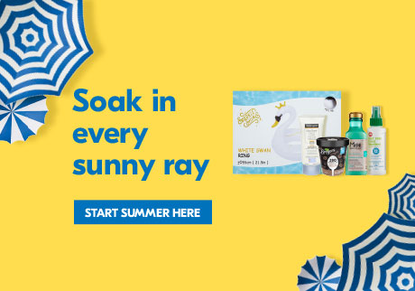 Soak in every sunny ray-Start Summer here