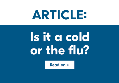 Is it a cold or the flu? Read on>