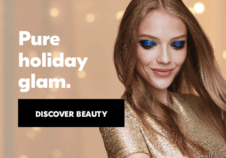 Pure holiday glam. Be holiday party ready with a dashing look that is sure to dazzle and delight. Discover beauty.