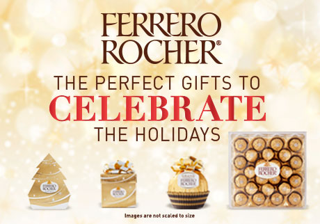 Ferrero Rocher | The perfect gifts to celebrate the holidays