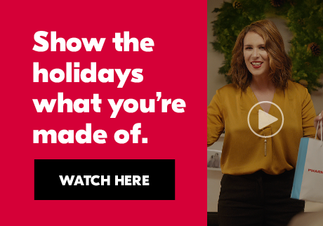 Show the holidays what you're made of. Watch here.