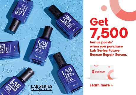 Get 7,500 bonus points when purchase Lab Series Future Rescue Repair Serum.