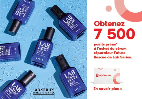 Obtenez 7 500 points prime à l'achat du Sérum réparateur Future Rescue de Lab Series.