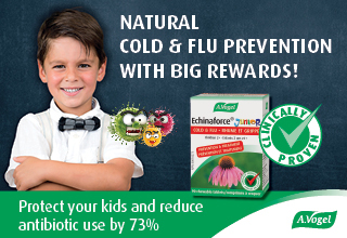 Echinaforce offers cold & flu protection for the whole family.  Learn more.""