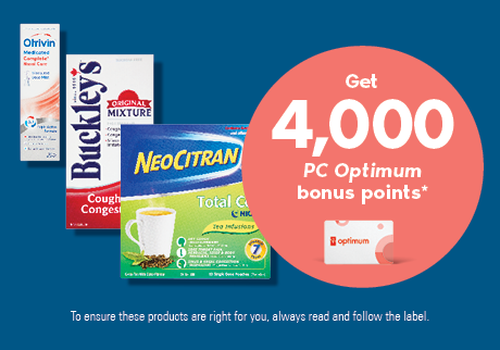 Get 4,000 bonus points* when you purchase any two participating GSK products.