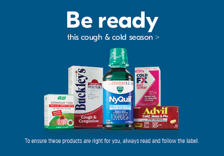 Be ready - this cough & cold season>