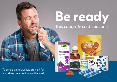 Be ready this cough & cold season>