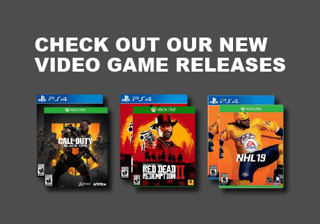 You want it. We've got it. Check out our new video game releases.