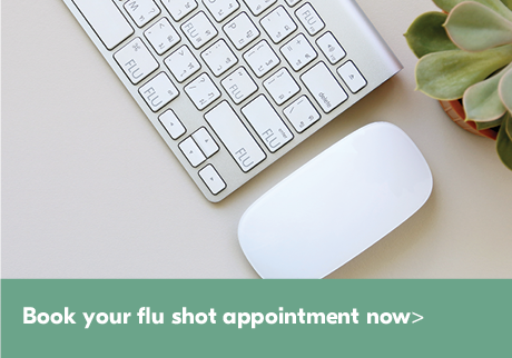 Flu germs are everywhere Book your flu shot appointment now. It's your best defense against the flu.