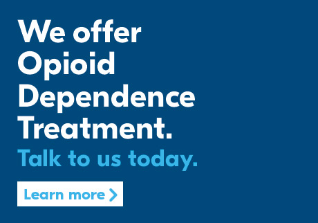 We offer Opioid Dependence Treatment. Learn More.