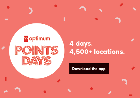 January 24 – 27: PC Optimum Points Days. Download the app and start counting down the days.