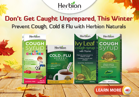 Prevent Cough, Cold & Flu with Herbion Naturals Cough Syrups & Granules and get 15% off*.
