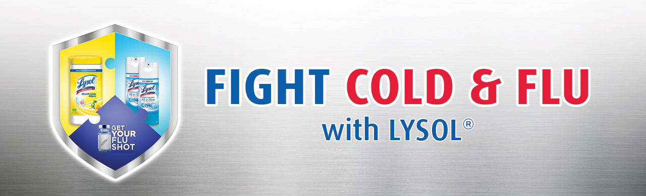 Fight Cold & Flu With Lysol®