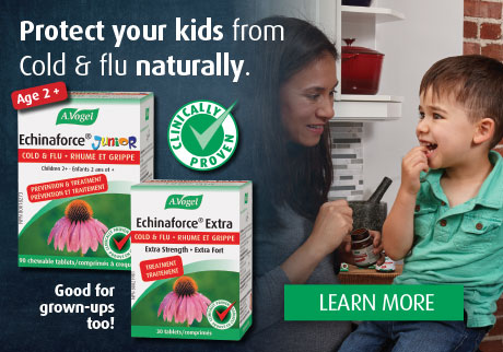 Protect your kids from colds and flu naturally. Echinaforce® Junior. Clinically proven to prevent illness and reduce antibiotic use by 76%.