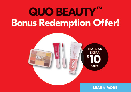 Bonus redemption offer! Learn more.