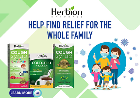 Herbion Naturals Cough Syrups & Granules help relieve Cough, Chest Congestion & Bronchitis.