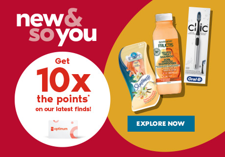 New & so you. Get 10x the points* on our latest finds! Explore now.